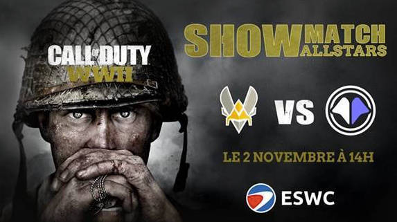 Showmatch : Vitality vs Millenium sur Call Of Duty : WWII